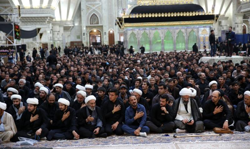 حرم امام خمینی (رح) میں شام غریباں کی تقریب /2019