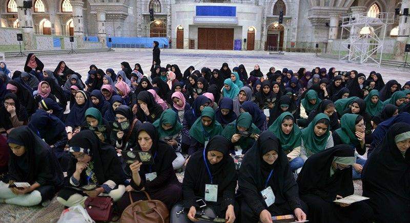 حرم امام خمینی (رح) میں اسپیشل طالبات کی حاضری اور ان کی تمناؤں سے تجدید عہد/2019