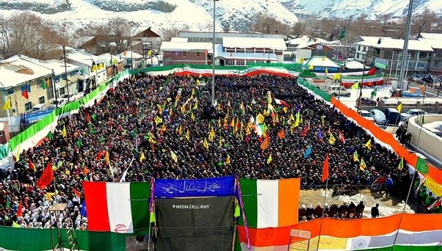 اسلامی انقلاب کی چالیسویں سالگرہ، کرگل میں عظیم محافل جشن و جلوس کا انعقاد