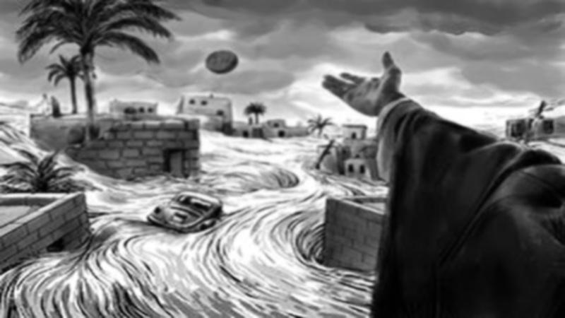 رہبر انقلاب نے کیسے ایک شہر کو  ڈوبنے سے بچایا ؟
