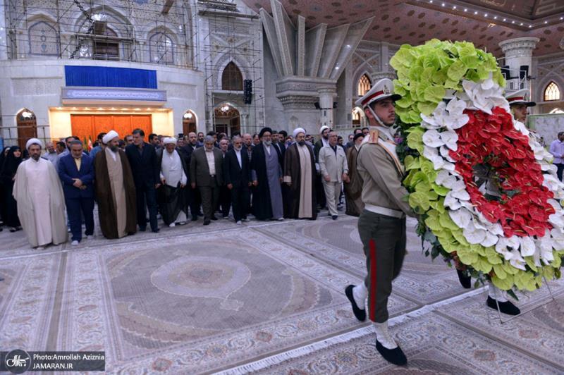 دفتر تبلیغات اسلامی کے اعلی حکام  نے بانی انقلاب سے تجدید عہد کیا
