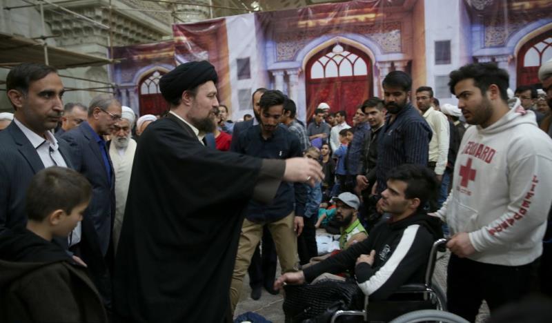 حرم امام خمینی (رح) میں ایرانی نئے سال کی آغاز کی تقریب /2019