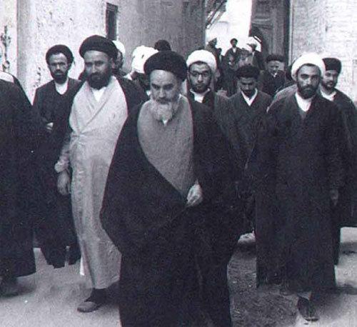 نجف والوں کا امام سے لگاؤ