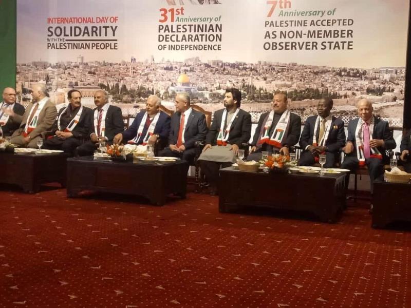 پاکستان آزاد فلسطین کے قیام کی مکمل حمایت کرتا ہے