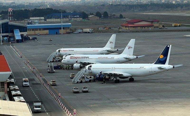 ایران کے ہوائی اڈوں کے بند ہونے پر عوام کا شدید رد عمل