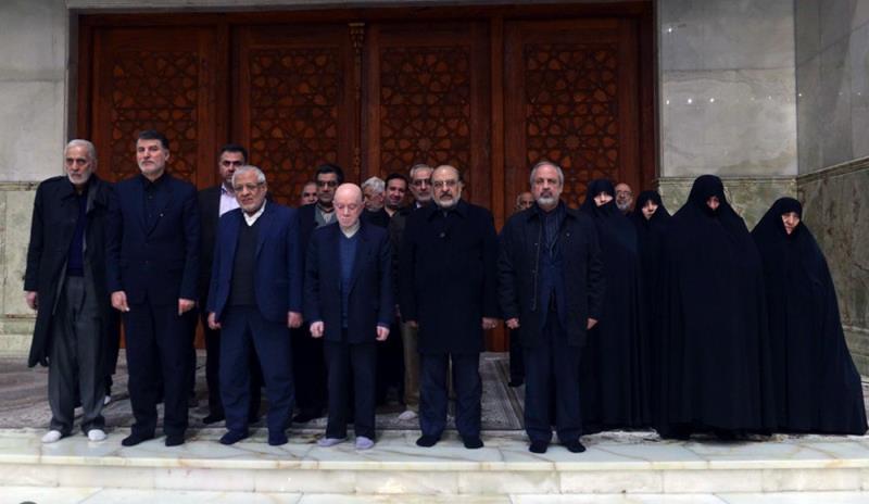 """""""موتلفہ اسلامی تنظیم"""" کے مرکزی کونسل کے اراکین کی حرم امام خمینی (رح) میں حاضری اور ان کی تمناؤں سےتجدید عہد/2019"""