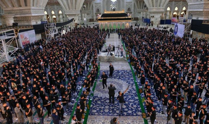 """حرم امام خمینی (رح) میں """"احلی من العسل"""" کی تقریب /2019"""