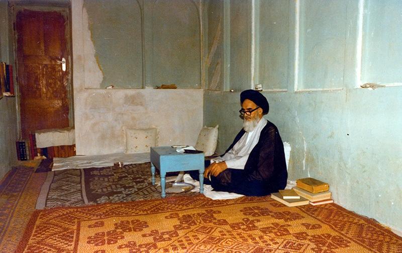 نجف اشرف میں ایک فوٹو گرافر نے کس طرح امام خمینی(رح) کی تصویر لی