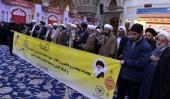حوزہ علمیہ تہران کے طلاب اور روحانیون کی حرم امام خمینی (رح) میں حاضری اور ان کی تمناؤں سے تجدید عہد /2019
