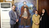 جماران، نوروزی سیاحوں کا امام خمینی (رح) کے تاریخی گھر کا دورہ -2 /2019
