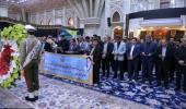 """حرم امام خمینی (رح) میں """"سلامت انشورنس آرگنائزیشن"""" کے کارکنوں کی حاضری اور امام کی تمناؤں سے تجدید عہد /2019"""