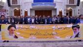 عشرہ فجر کے موقع پر؛ ثقافت اور اسلامی ارشاد کے وزیر اور کارکنوں کی حرم امام خمینی (رح) میں حاضری اور ان کی تمناؤں سے تجدید عہد /2019