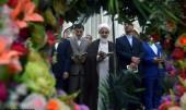 حرم امام خمینی (رح) میں قزوین صوبہ کے گورنر اور امام جمعہ کی حاضری اور ان کی تمناؤں سے تجدید عہد /2019