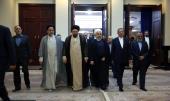 ایران میں ہفتہ حکومت کے موقع پر صدر روحانی اور کابینہ کی بانی انقلاب حضرت امام خمینی (رح) کے مزار پر حاضری اور ان کی تمناؤں سے تجدید عہد/2019