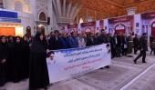 حرم امام خمینی (رح) میں نرسنگ سوسائٹی کی حاضری اور ان کی تمناؤں سے تجدید عہد /2019