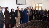 خمین، نوروزی سیاحوں کا امام خمینی (رح) کے تاریخی گھر کا دورہ -1 /2019