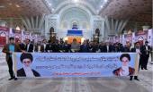 تہران  سلامتی کونسل اور انتظامیہ کے اعلی حکام کا بانی انقلاب اسلامی سے تجدید عہد