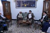 شیعہ سنی علماء نے سید حسن خمینی سے ملاقات کی