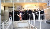 """جماران، """"طریق جاوید"""" قومی گردش کا آٹھویں دورہ کے طلباء و طالبات کا امام خمینی (رح) کے تاریخی گھر کا دوره /2019"""