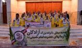 عشرہ فجر کے موقع پر؛ آزادگان (ایران اور عراق کی جنگ کے دوران اسیر شده ایرانی)  کی حرم امام خمینی (رح) میں حاضری اور ان کی تمناؤں سے تجدید عہد /2019