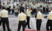 حرم امام خمینی (رح) میں امین انتظامیہ سائنس یونیورسٹی کے طالبعلموں کی عزاداری /2019