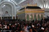 امام خمینی(رح) کے حرم میں انیسویں کی شب میں عبادات و مناجات