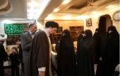 تصویری رپورٹ/حجۃ الاسلام والمسلمین سید حسن خمینی نے مرحوم محمد نبی حبیبی کے گھر پہنچ کر فاتحہ خوانی کی۔