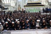 حرم امام خمینی میں شام غریباں کی مجلس منعقد ہوئی۔