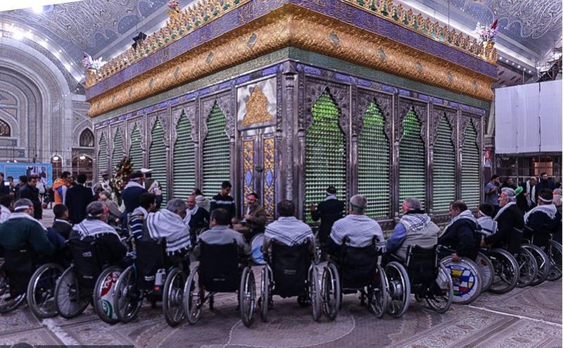 ریٹائرڈ زخمی فوجیوں نے اسلامی انقلاب کے بانی سے تجدید عہد کیا