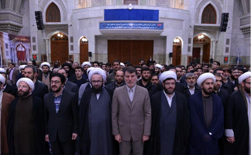 پرند شہر کے امام جمعہ اور حکام کا بانی انقلاب سے تجدید عہد