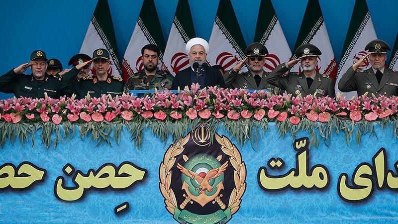 ایرانی فوج نے گذشتہ 40 سال سے ملک کی ارضی سالمیت اور پاسداری کے لئے فداکاری کر رہی ہے