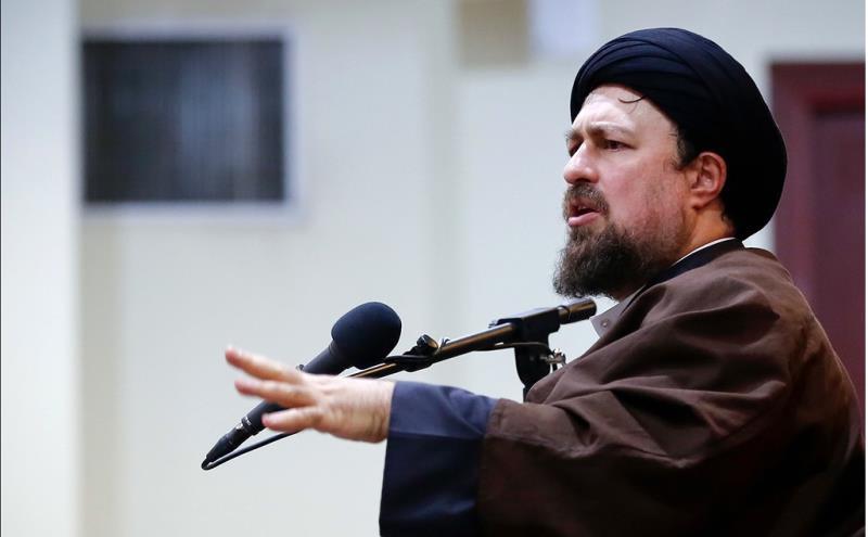 سپاہ کے خلاف امریکہ کے غیر قانونی اقدام  پر سید حسن خمینی کا شدید رد عمل