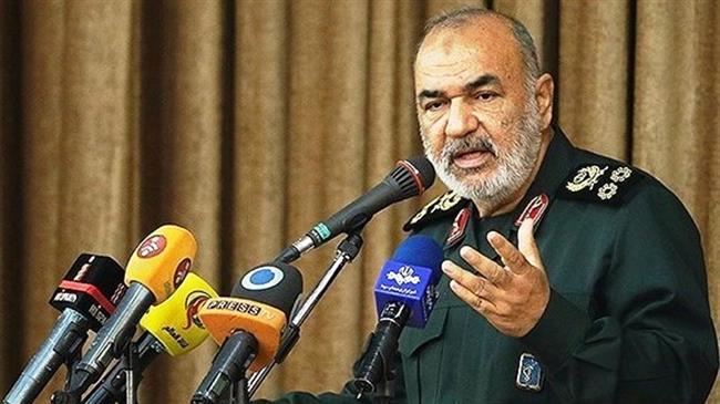 امریکہ، اسرائیل اور برطانیہ کو منہ توڑ جواب دیا جاے گا: جنرل حسین سلامی