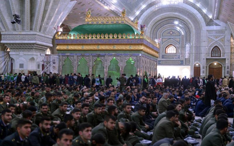 تصویری رپورٹ/ حضرت امام خمینی(رح) کے مزار پر انکی وطن واپسی کی مناسبت سے تقریب منعقد