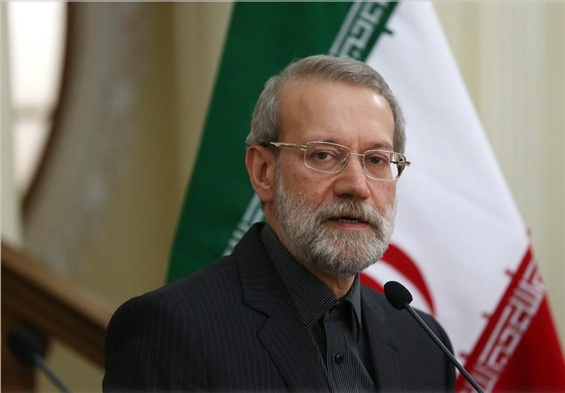 علاقے میں بد امنی کی اصلی وجہ امریکا ہے: علی لاریجانی