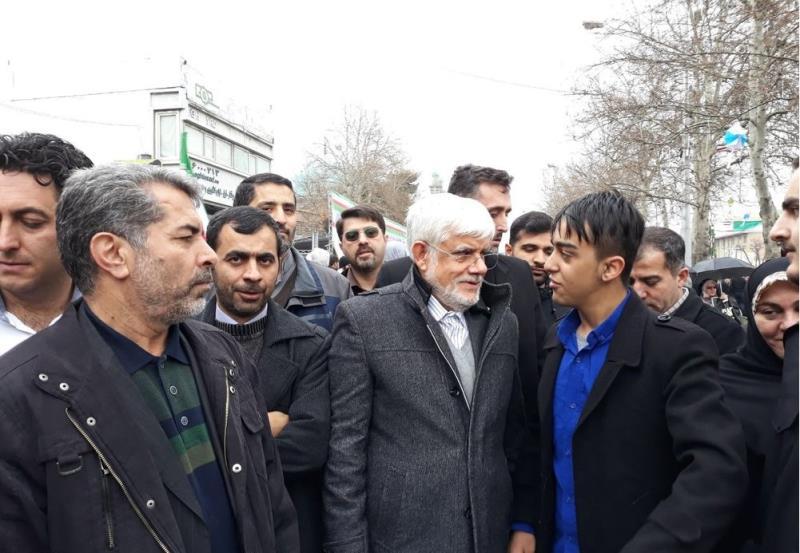 ایران کے اعلی حکام کی 22 بہمین کی ریلی میں شرکت