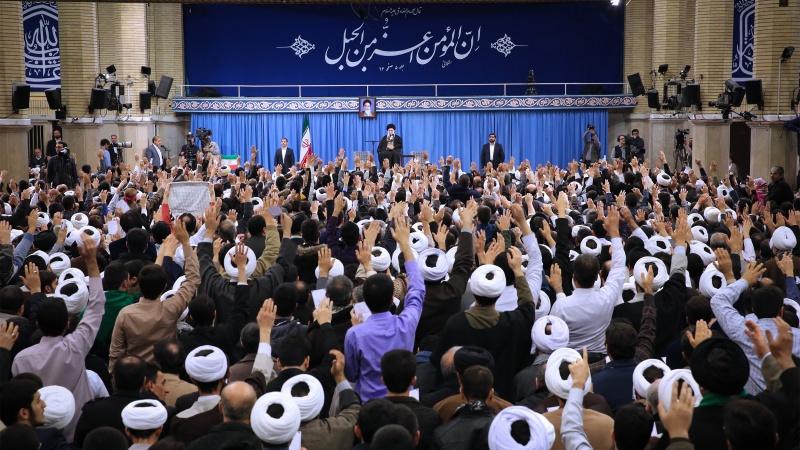 امریکہ اور ایران کے درمیان محاذ آرائی حق و باطل کی جنگ  ہے