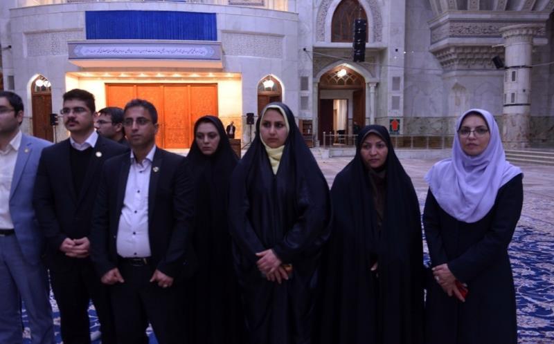 حرم امام خمینی (رح) میں ایران کی نرسنگ آرگنائزیشن کے مینیجرز اور کارکنوں کی حاضری اور ان کی تمناؤں سے تجدید عہد – 2019ء