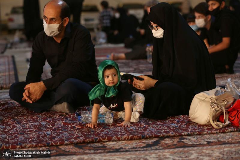 حرم امام خمینی (رح) میں عاشورائے حسینی (ع) کی رات کی تقریب /2020