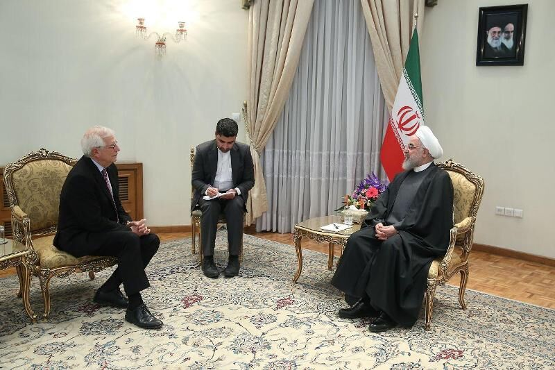 یورپی یونین سے تعاون کا سلسلہ جاری رکھنے پر تیار ہیں: ایرانی صدر