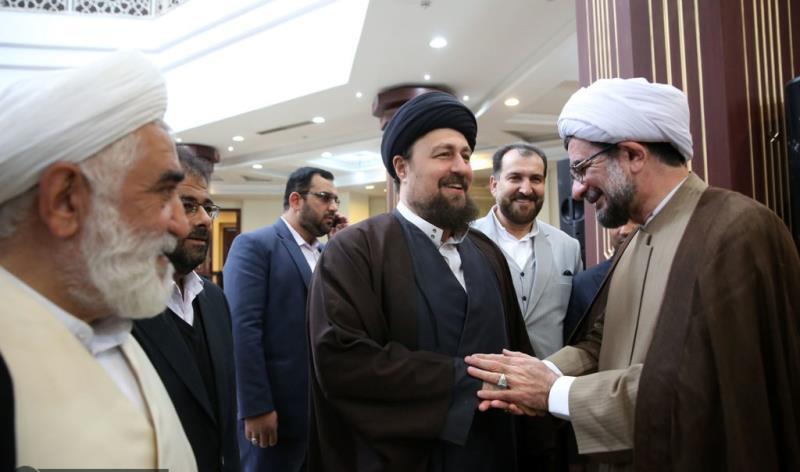 عشره فجر کے موقع پر، تہران شہر کے میئر اور اسلامک سٹی کونسل کے اراکین کی سید حسن خمینی سے ملاقات /2020