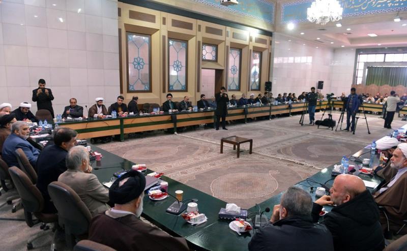 اسلامی تبلیغات رابطہ کونسل کے اراکین کی حرم امام خمینی (رح) میں حاضری اور ان کی تمناؤں سے تجدید عہد /2019