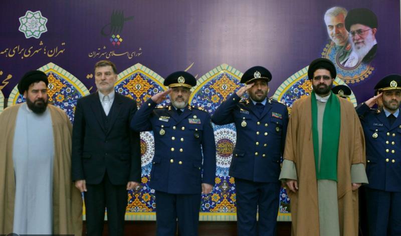 عشره فجر کے موقع پر، ایرانی آرمی ائیرفورس کے کمانڈرز کی حرم امام خمینی (رح) میں حاضری اور ان کی تمناؤں سے تجدید عہد /2020