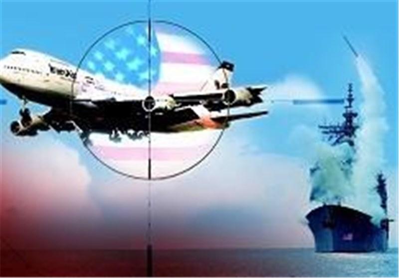 امریکہ کا جنگی کشتی کے ذریعہ ایران کے مسافر لے جانے والے جہاز پر حملہ