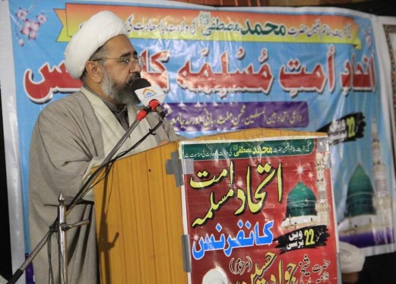 قرآن، نبی کریم (ص)، اہلبیت (ع) اور صحابہ کی توہین کے پیچھے ایک ہی ہاتھ ہے، علامہ امین شہیدی