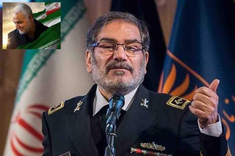 ایران شہید سلیمانی کے قاتلوں سے انتقام لینے میں پرعزم ہے، علی شمخانی