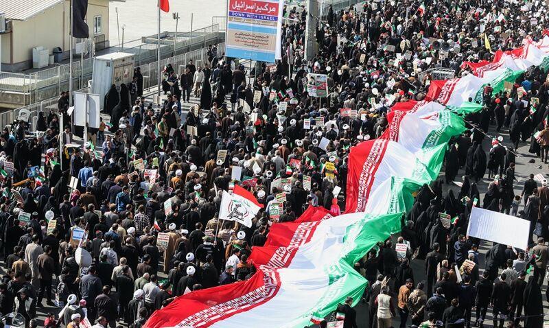 اسلامی انقلاب کی 41ویں سالگرہ، ایران میں ملک گیر عوامی ریلیاں