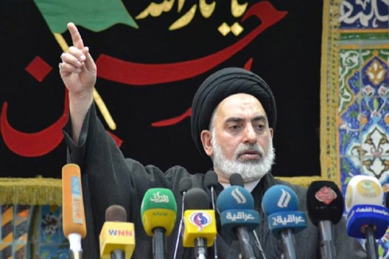 عراق ، کربلا معلیٰ میں رونما ہونے والے واقعات نے دشمنوں کے اصلی چہرے کو بے نقاب کردیا، امام جمعه نجف اشرف
