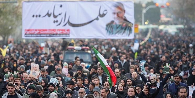 تہران میں فرزندان خمینی کا تاریخی استقبال