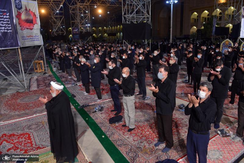 حرم امام خمینی (رح) میں محرم کی بارہویں رات کی عزاداری کی تصویری جھلکیاں/ 2020
